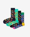 Happy Socks Junkfood Pono?ky 4 páry