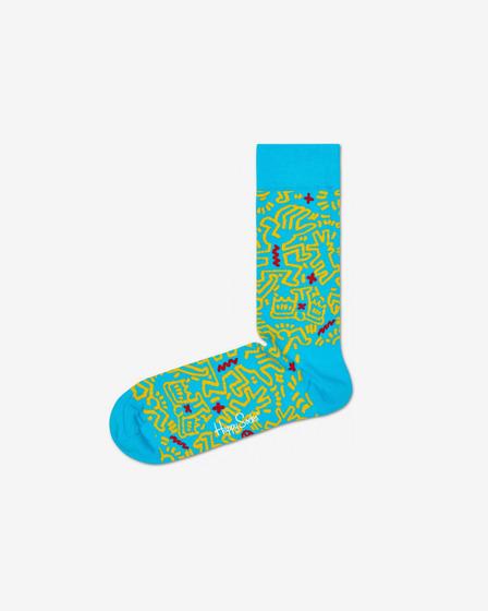 Happy Socks Keith Haring All Over Pono?ky