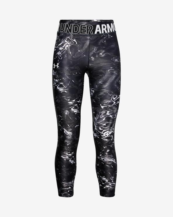 Under Armour HeatGear® Gyerek Leggings Fekete