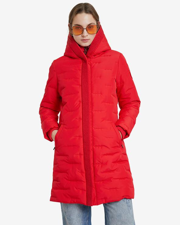 Desigual Anya Kabát Piros