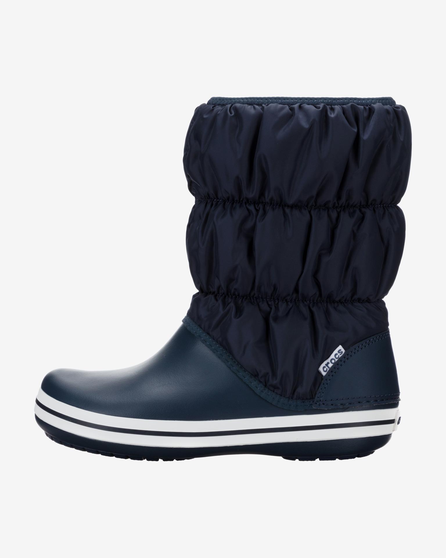 Winter Puff Snehule Crocs