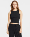 Puma Modern Basics Ribbed Crop top