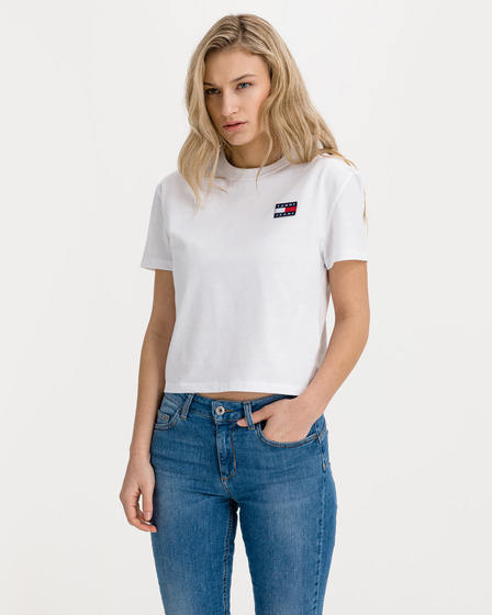 Tommy Jeans Tommy Badge Triko
