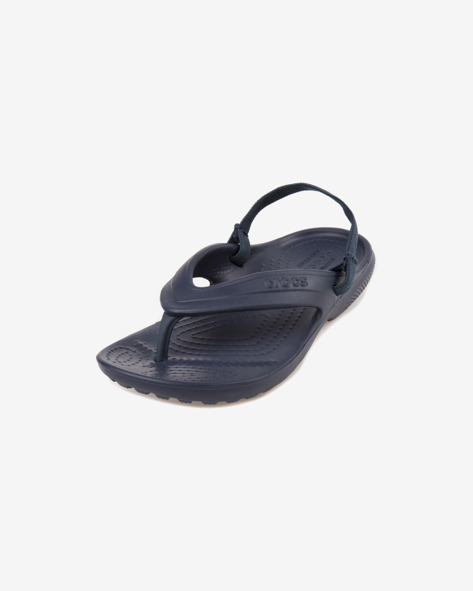 The Crocs™ Kids' Classic flip flops are a sleek, slender version of the original Crocs™ clog. The wide, roomy footbed is made from Croslite™ PCCR material, which molds to kids' feet. Ergonomic styling includes a supportive footbed and built-in arch support/5().