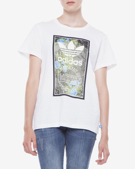 adidas Originals Tongue Label Boyfriend Triko