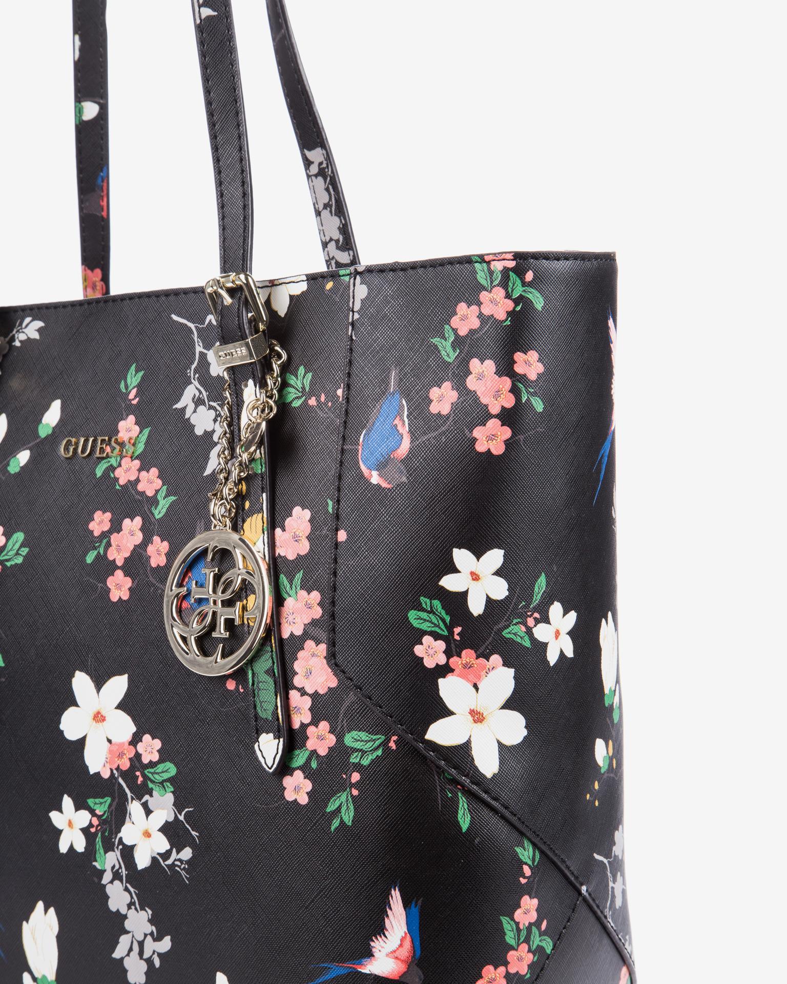 Guess - Isabeau Floral Handbag Bibloo.com