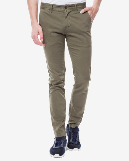 Hugo Boss Orange Schino-Slim1-D Trousers