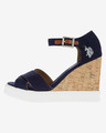 U.S. Polo Assn Norma1 Wedges