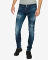 DSQUARED2 Long Clement Farmernadrág