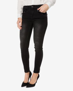 Desigual Second Skin Gold Jeans