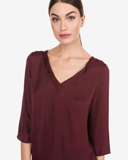 Vila Rustic Simple Blouse