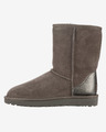 UGG Classic Short II Metallic Snow boots
