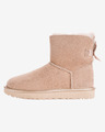 UGG Mini Bailey Bow II Metallic Čižme za snijeg
