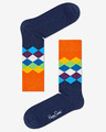 Happy Socks Faded Diamond Zokni
