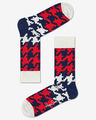 Happy Socks Dogtooth Zokni