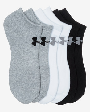 Under Armour Charged Cotton 2.0 Ponožky 6 párů