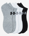 Under Armour Charged Cotton 2.0 6-pack Sokken