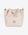 Trussardi Jeans Violet Cross body bag