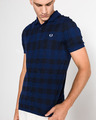 Fred Perry Gingham Polo T-shirt