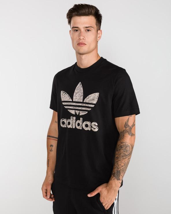 adidas Originals Hand Drawn Triko   Bibloo.cz