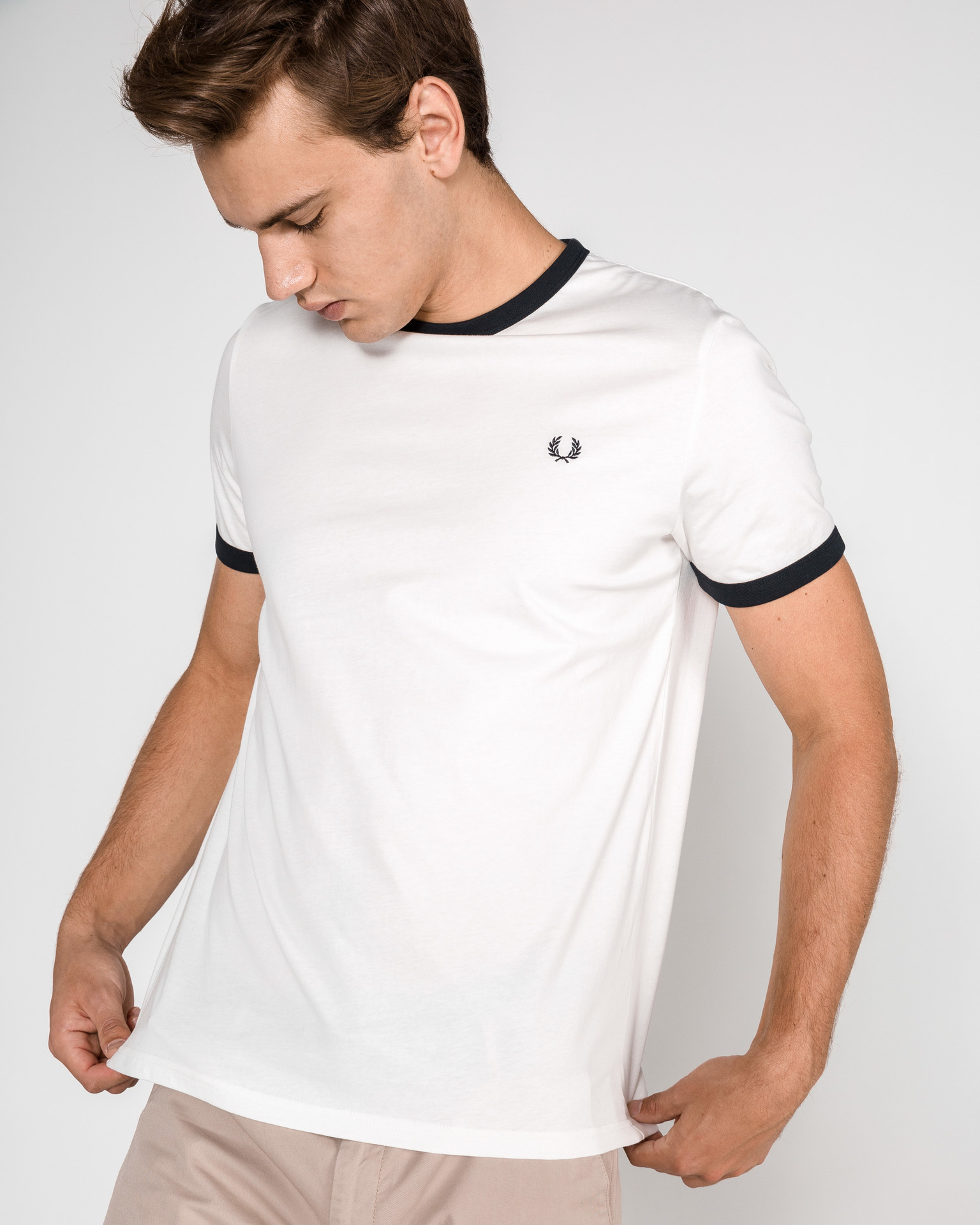 fred perry white t shirt sale Shop Clothing & Shoes Online