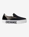Armani Exchange Slip On Buty