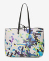 Desigual Confetti Black Seattle Handbag