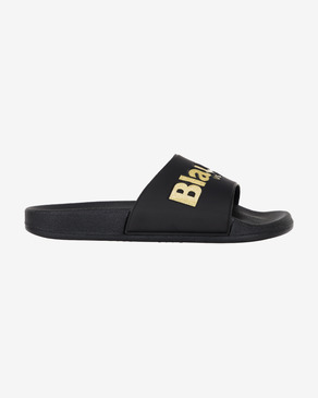 Blauer Palm Slippers