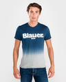 Blauer Shaded T-shirt