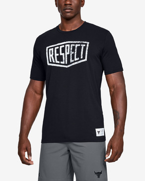 Under Armour Project Rock Graphic Respect Triko