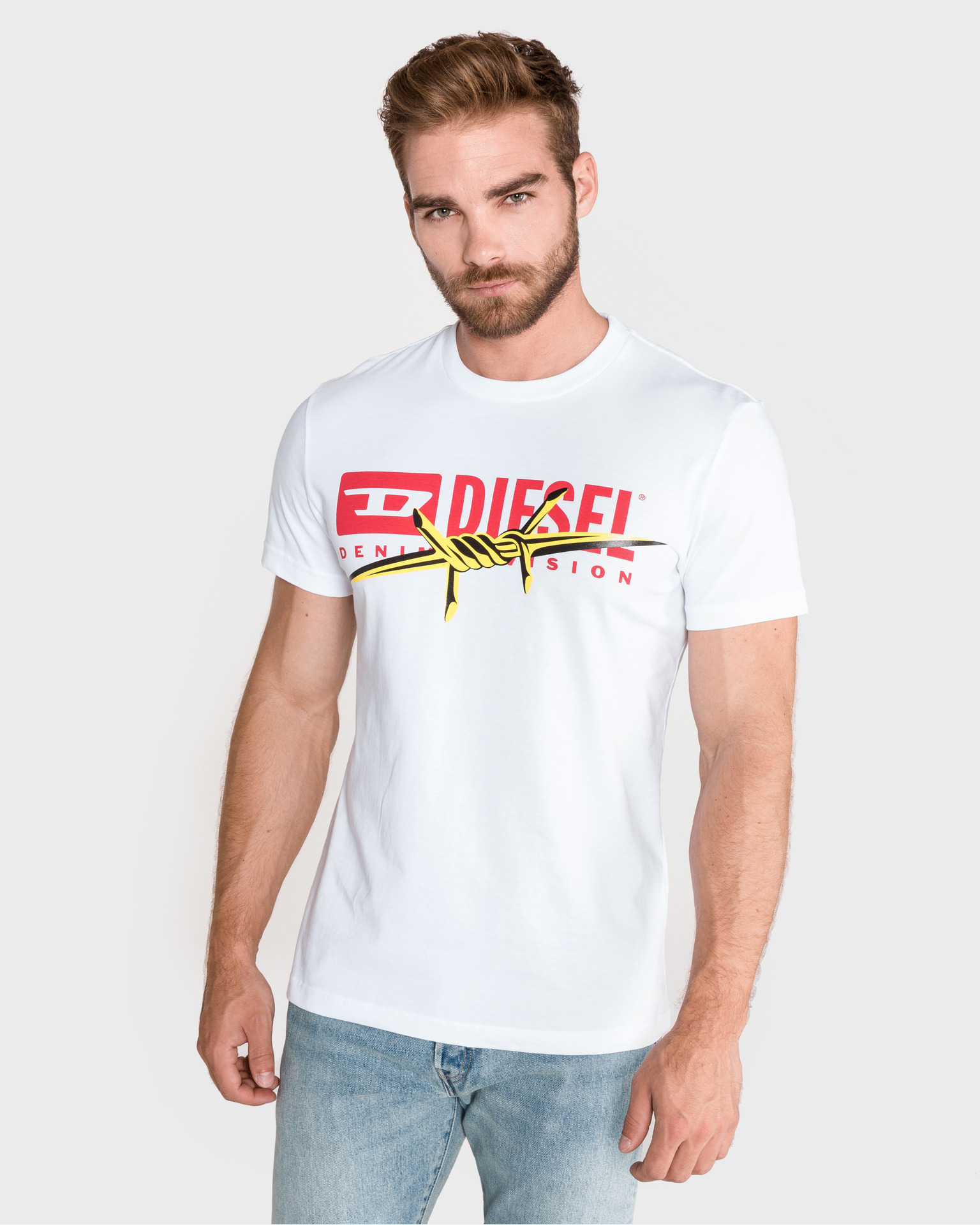 Diesel Mens Short Sleeve T-Diego-BX2 Tee Shirt