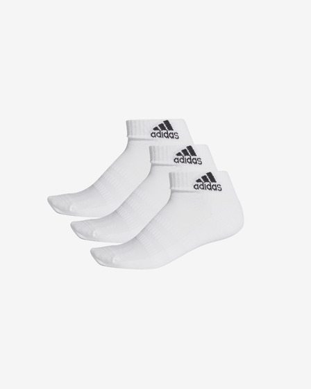 adidas Performance Cush Set of 3 pairs of socks