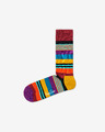 Happy Socks Multi Stripe Ponožky