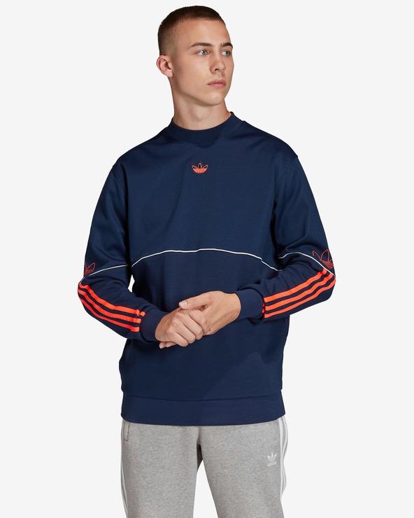 adidas Originals Outline Sweatshirt Blau
