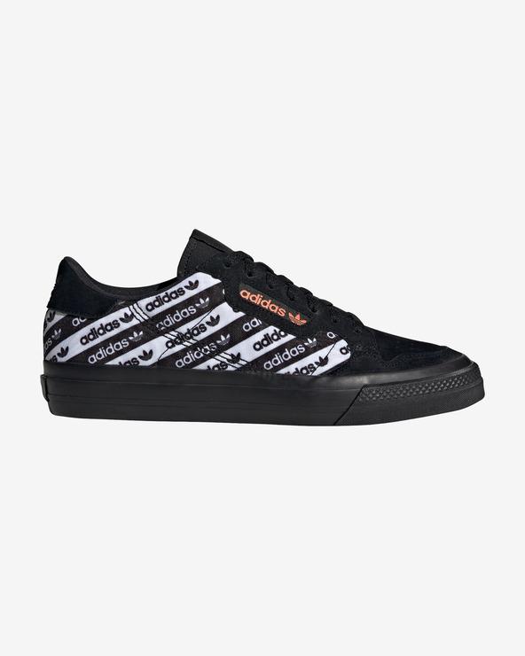 adidas Originals Continental Vulc Tennisschuhe Schwarz