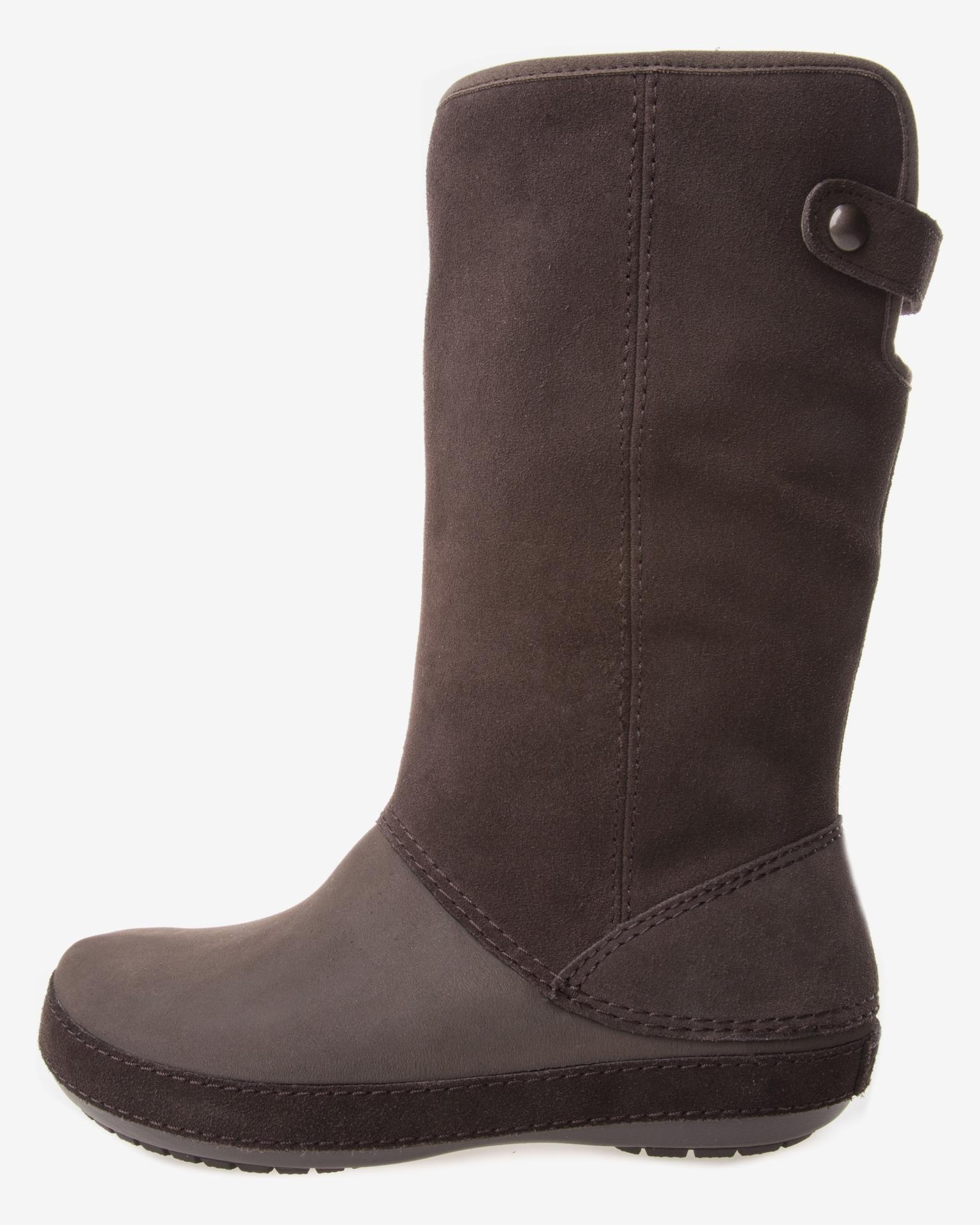 crocs berryessa suede boot boots bibloo