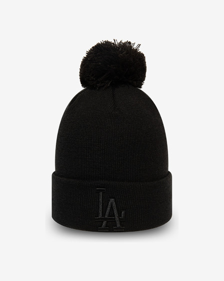 New Era League Essential Bobble Knit LA Dodgers Kulich