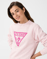 Guess Basic Triangle Fleece Mikina