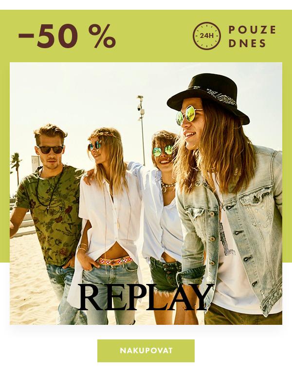 replay sleva 50%